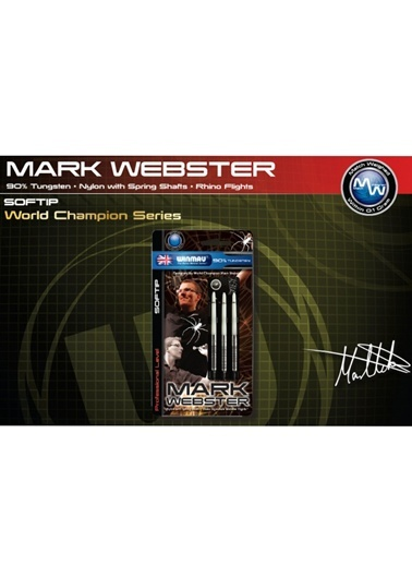 Mark Webster % 90 Tungsten Plastik Uçlu Dart - 16 Gram-Winmau